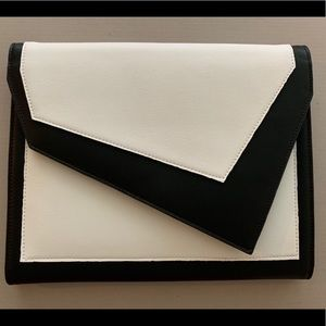 Leith Colorblock Faux Leather Clutch